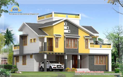 Beautiful contemporary villa design 2550 sq ft kerala home design and floor plans