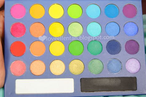 Eyeshadow Yang Pigmented bh cosmetics take me to brazil palette review swatched