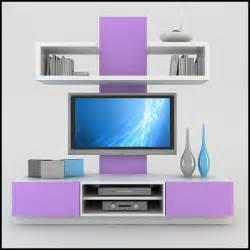Unit Tv Modern Tv Wall Unit 3d Model