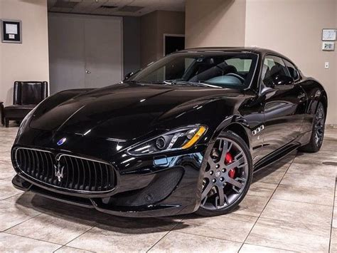 Maserati Msrp 2015 by 2015 Maserati Granturismo Sport Nero One Owner 137k Msrp