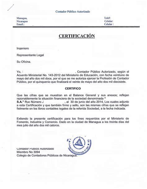 modelo carta de ingresos certificacion de ingresos colombia certificacion