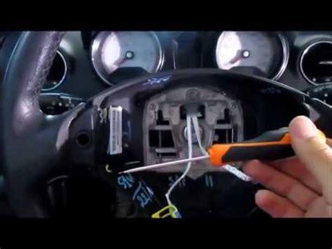 peugeot 307 airbag removal peugeot 307 air bag removal heater blower motor repair