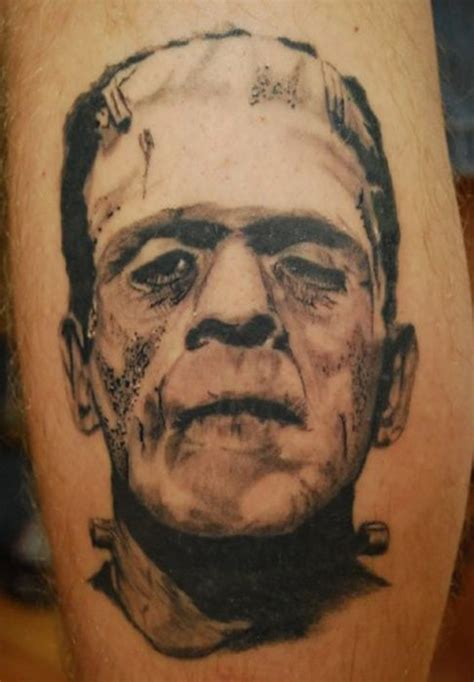 tattoo fixers halloween frankenstein 25 horror villain tattoos that will give you nightmares
