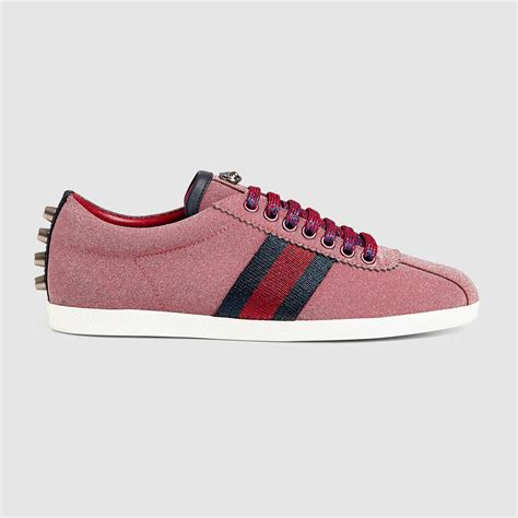 10 Top Gucci Shoes by Lyst Gucci Glitter Web Sneaker In