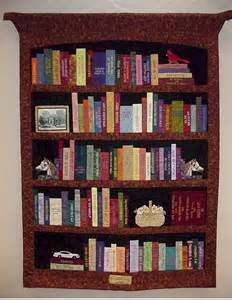 Cat Library Bookcase Library Quilt Example Quilt Pinterest