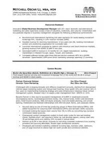 Executive Sle Resume by Executive Resume Package Brightside Resumes