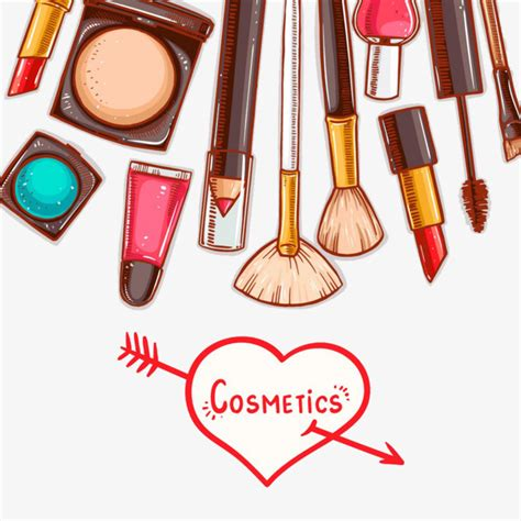 Make Up Tools make up tools make up painted cosmetic png image