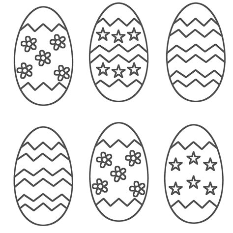 free coloring pages of paint the easter egg
