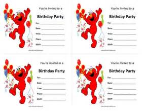 free printable elmo birthday invitations template elmo birthday invitations free printable