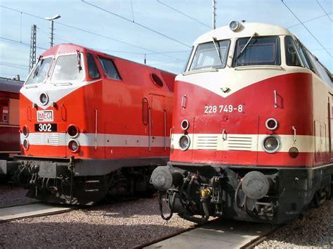 u boat number 118 diesellokomotiven in erfurt vorn br 228 ex v180 der dr