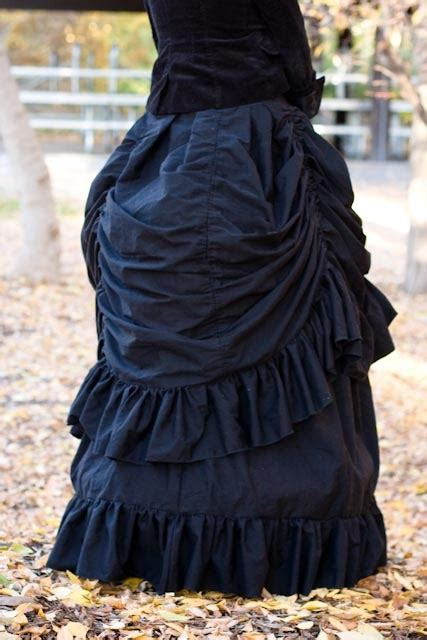 victorian witch costume skirt  recentlyrisa project