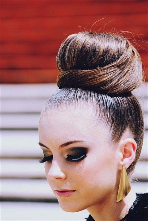 pics of black pretty big hair buns with added hair sleek high bun hairstyles i like pinterest