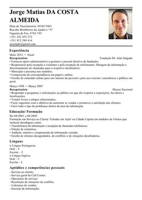 Modelo Curriculum Auditor Interno Modelo De Curriculum Representate De Servi 231 O Ao Cliente Exemplo De Cv Atendimento Ao Cliente
