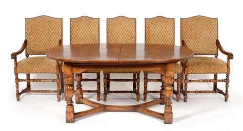 reproduction oak dining tables tennants auctioneers a reproduction oak circular