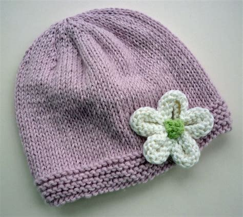 how to knit a baby hat mack and mabel knitted flower tutorial