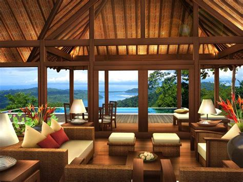 bali style house plans tropical architecture for luxury