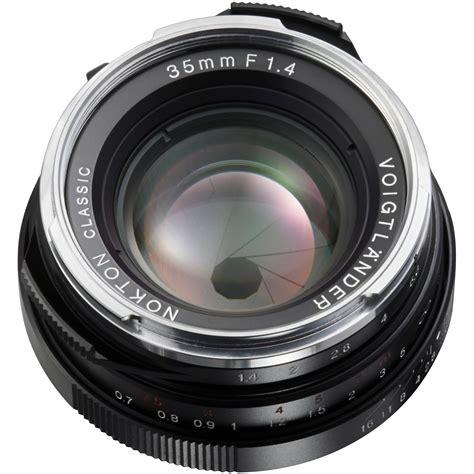 Voigtlander Nikon voigtlander nokton classic 35mm f 1 4 mc lens ba243b b h photo
