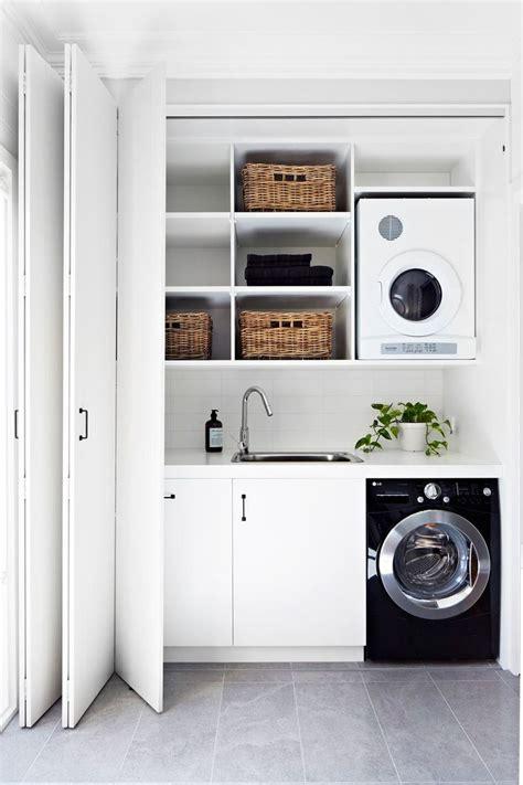 einbauschrank für waschmaschine und trockner deko ideen trockner auf waschmaschine oder daneben