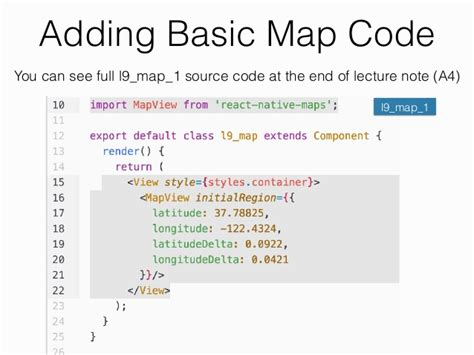 react native beginner tutorial react native tutorial map