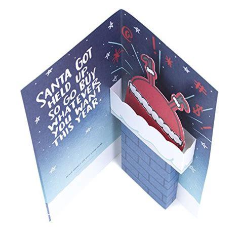 Return Gift Cards For Money - hallmark funny christmas gift card or money holder stuck import it all