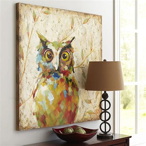 dining room owl home decor accessories