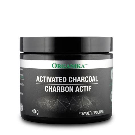 Activated Charcoal Detox Mask by Buy Organika Activated Charcoal Powder 40 G Fitshop Ca
