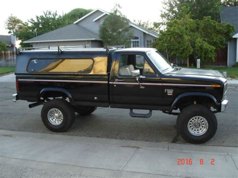 1984 ford f250 6 9l diesel with banks turbo 4x4 lifted rebuilt motor for sale in