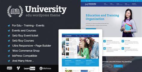 themeforest education theme university education event and course theme wordpress
