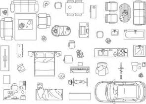 Furniture Icons For Floor Plans Architect Clip Vector Images Illustrations Istock