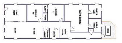 Shotgun House Layout by Shotgun Floorplans Nola Kim