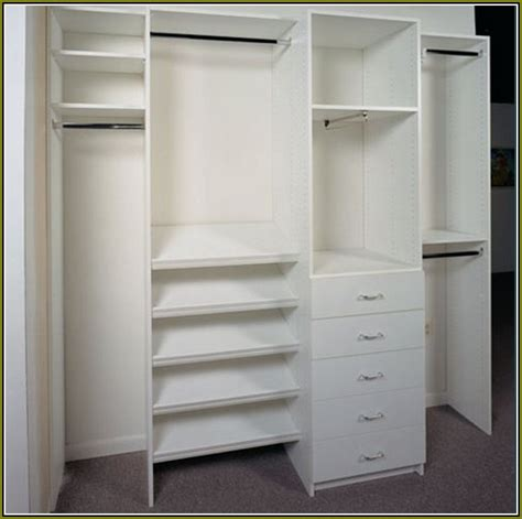 Closet Cabinets Diy by Reach In Closet Organizers Do It Yourself Best Home