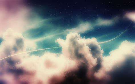 colorful clouds wallpaper colorful clouds in the sky wallpaper 5072
