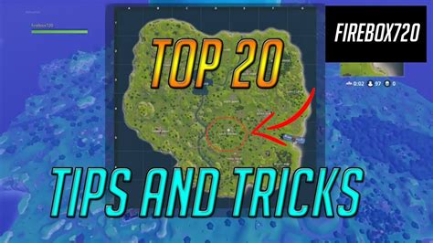 TOP 20 TIPS AND TRICKS TO ALWAYS WIN   Best Map Location