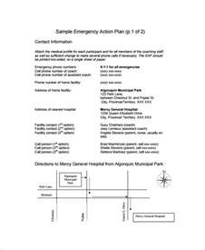 hospital plan template sle emergency plan 11 free documents in word pdf
