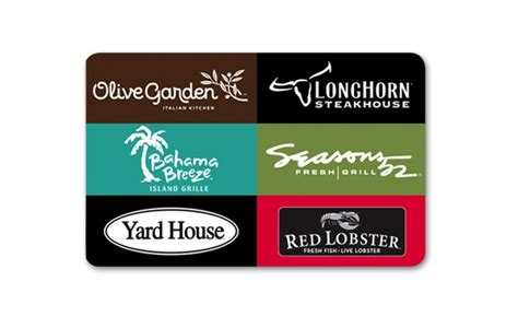 Custom Restaurant Gift Cards - darden restaurants gift cards darden restaurants