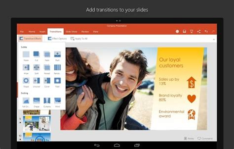 microsoft powerpoint: an app for presentation