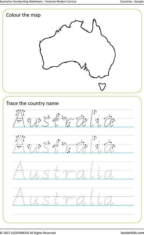 victorian handwriting worksheets printable australian handwriting worksheets victorian modern