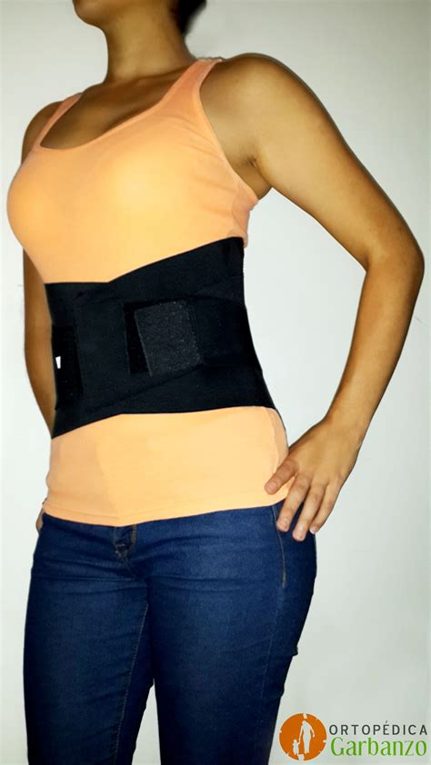 corset lumbar faja de soporte en la espalda baja  afecciones como lumbalgia hernia discal