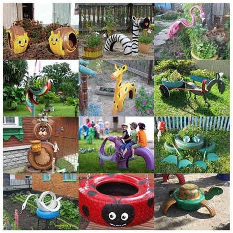 40 creative diy ideas to repurpose old tire into animal