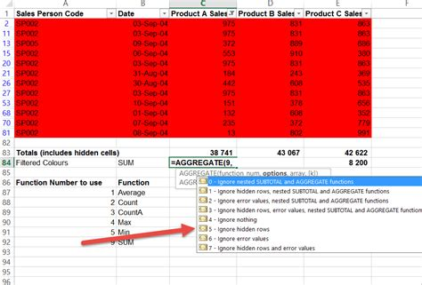 excel sum by color sum cells by colour with the data filter auditexcel co za