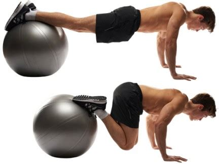 swiss ball  pack moves mens health