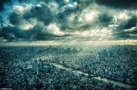 Landscape Photography Awards Kevin Mullins Photograph Of Tokyo S Skyline From Sky Tree