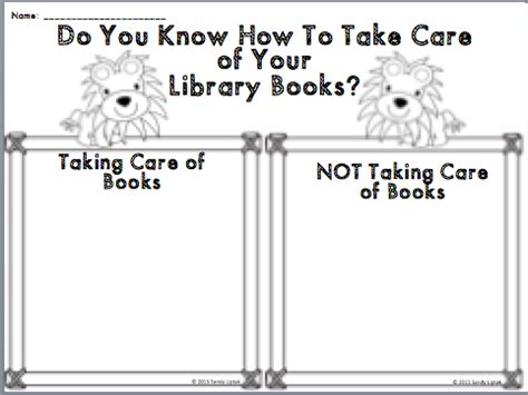 reference books library lessons library book care book lessons by