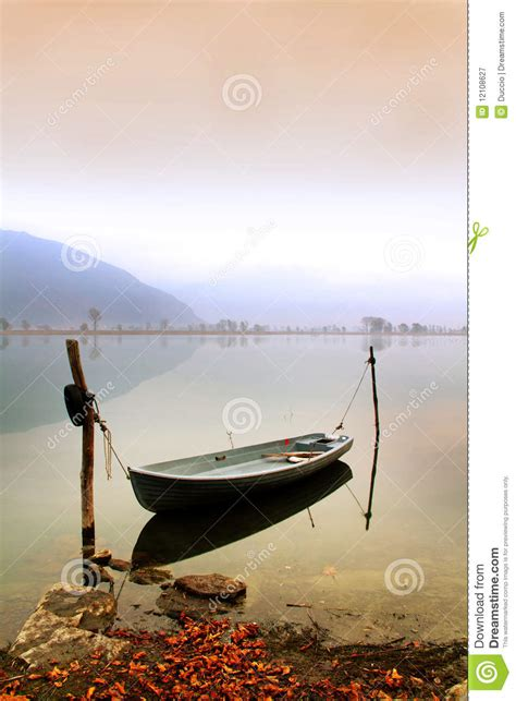how to anchor a boat in a lake boat anchor royalty free stock photography image 12108627