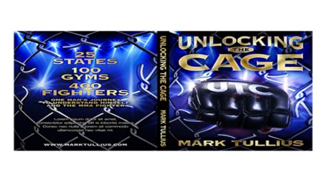 unlocking the cage exploring the motivations of mma fighters books exclusive with author tullius