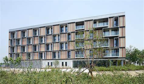 Apartment Energy Efficiency Energy Efficient 46 Unit Passivhaus Bruck Building Opens