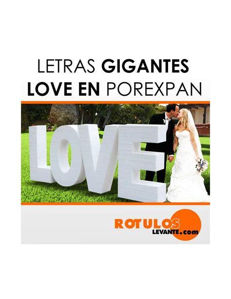 love letras decoracion letras gigantes love para boda