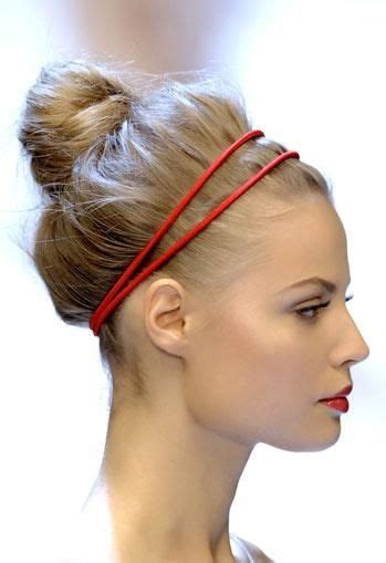 hairstyles with double headband 137 best hair images on pinterest hair colors hair cut