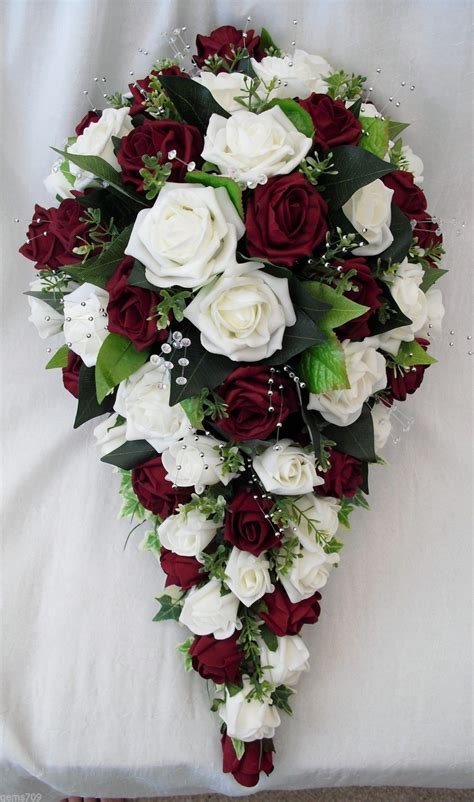 Order Bridal Bouquet by Special Order For Tracy Artificial Wedding Flowers