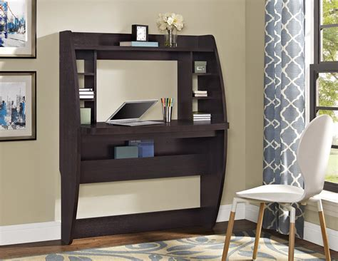 Wall Mounted Desk Ideas Wall Mounted Desk Hutch Best Home Design 2018